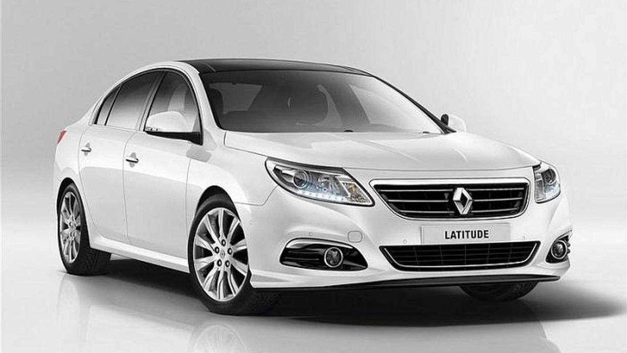 2014 Renault Latitude facelift leaked photo 08.8.2013