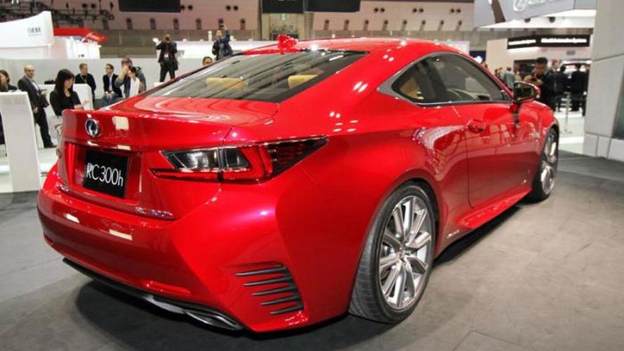 Lexus RC Coupe beautifies Tokyo Motor Show