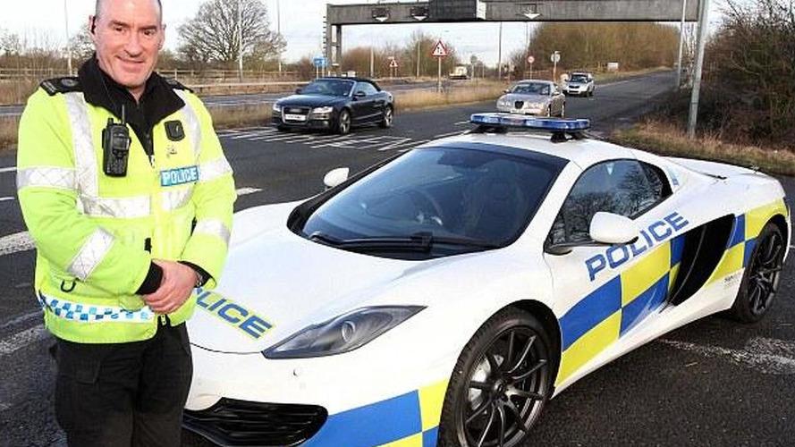 UK police receives McLaren 12C Spider patrol car