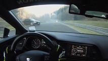 Audi TT RS Crash