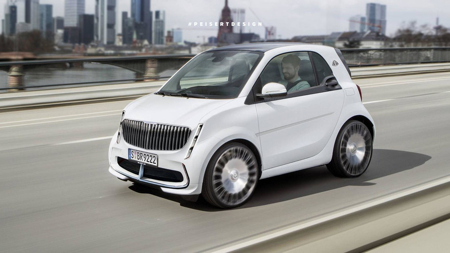 smart Maybach, un render único en su especie