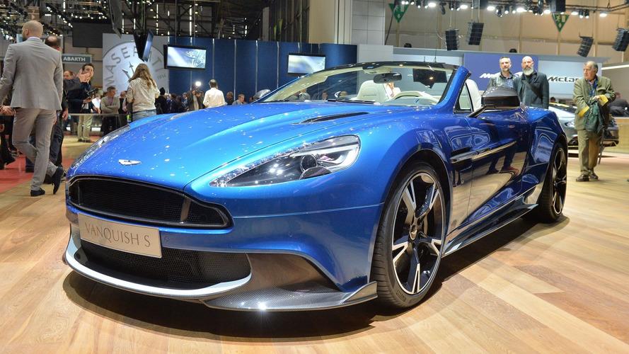 2017 Aston Martin Vanquish S Volante