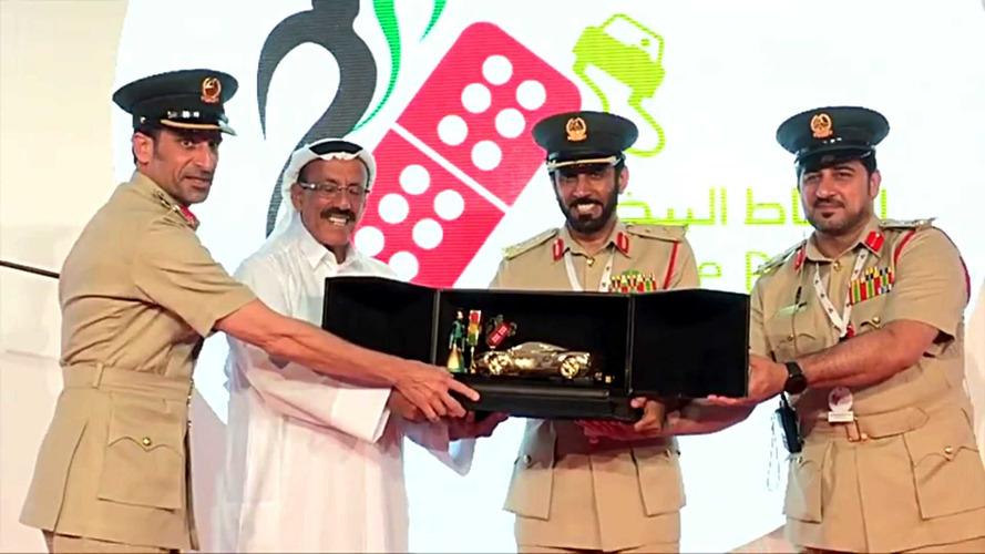 Dubai Police Award Safe Drivers With Golden Cars