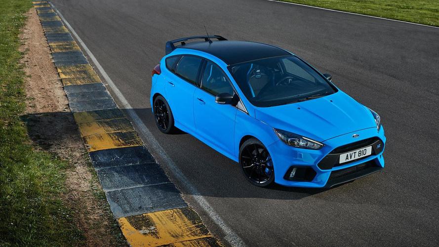 Ford Focus RS'in Avrupa versiyonuna Option Pack geldi