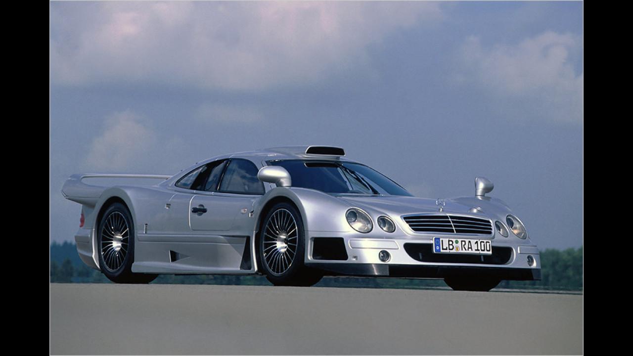 1998: Mercedes CLK GTR Straßenversion