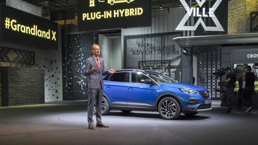 Opel Grandland X markanın ilk plug-in hibriti olacak
