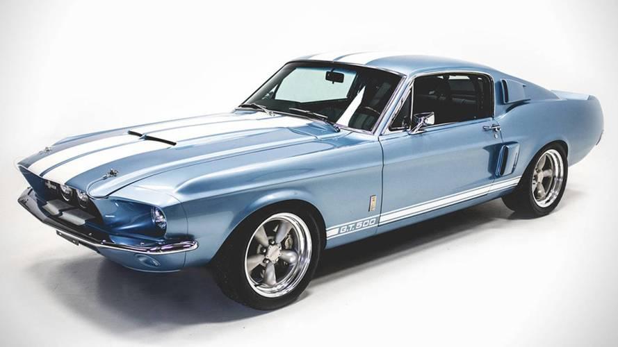 58 millió forint az ára egy vadonatúj '67-es Shelby GT500-nak