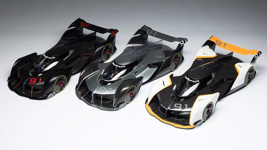 Amalgam Creates McLaren Ultimate Vision GT 1:8 Scale Model