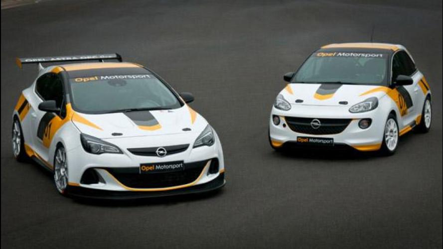 Opel torna alle corse con Adam e Astra OPC Cup