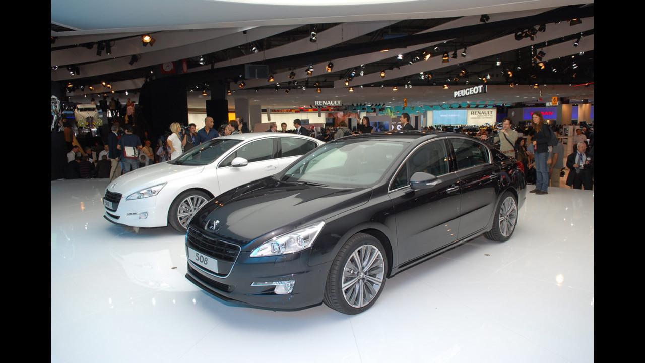 Peugeot 508 al Salone di Parigi 2010
