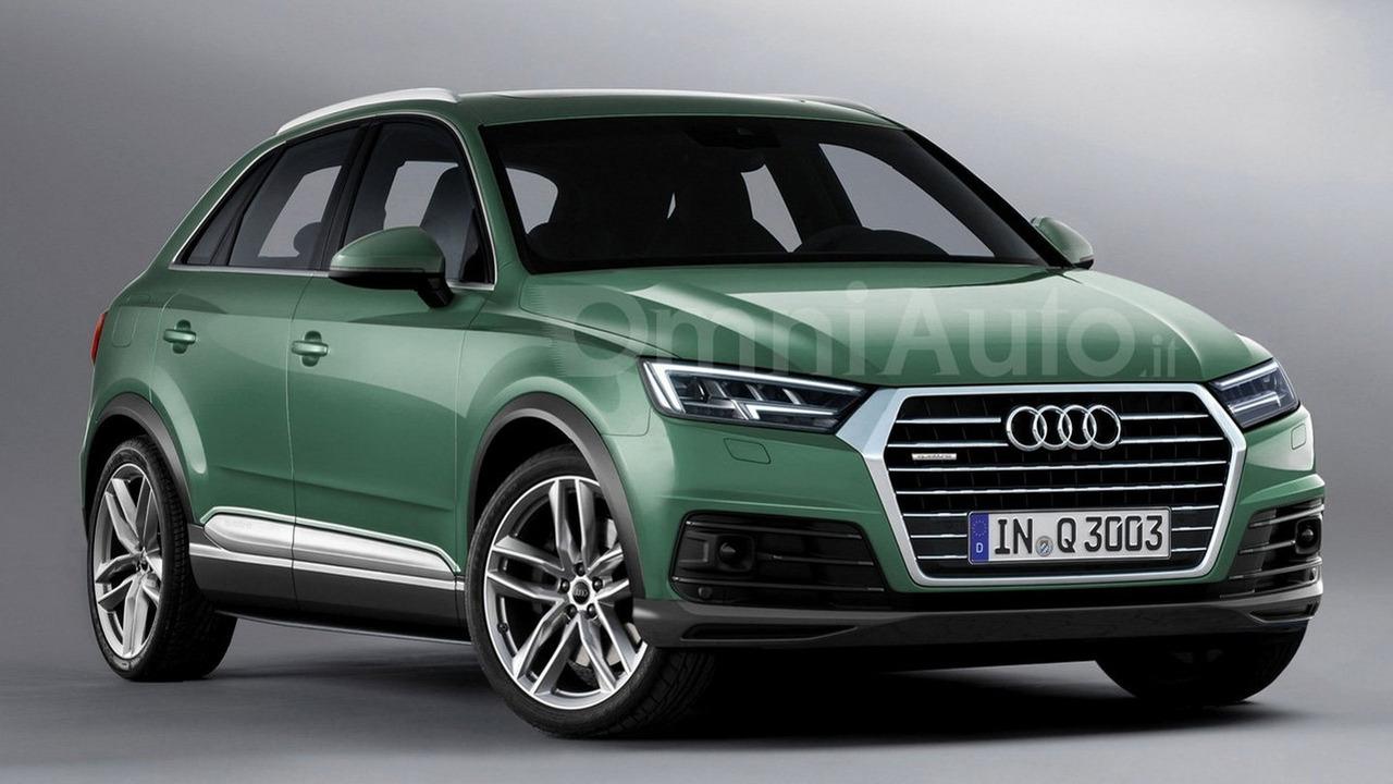 2017 Audi Q3 render