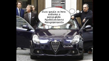 Ferrari da Montezemolo a Marchionne, la foto-satira