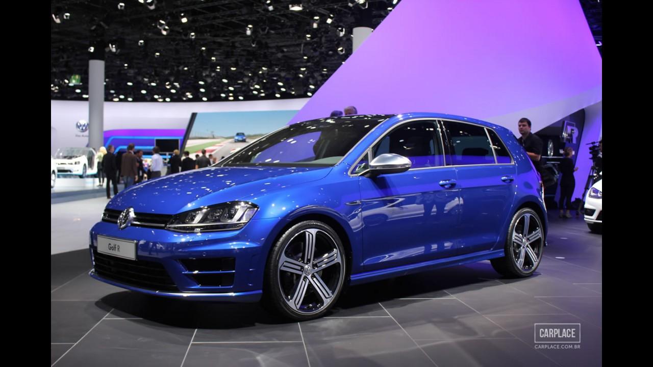 Volkswagen vai apresentar versão norte-americana do Golf R em Detroit
