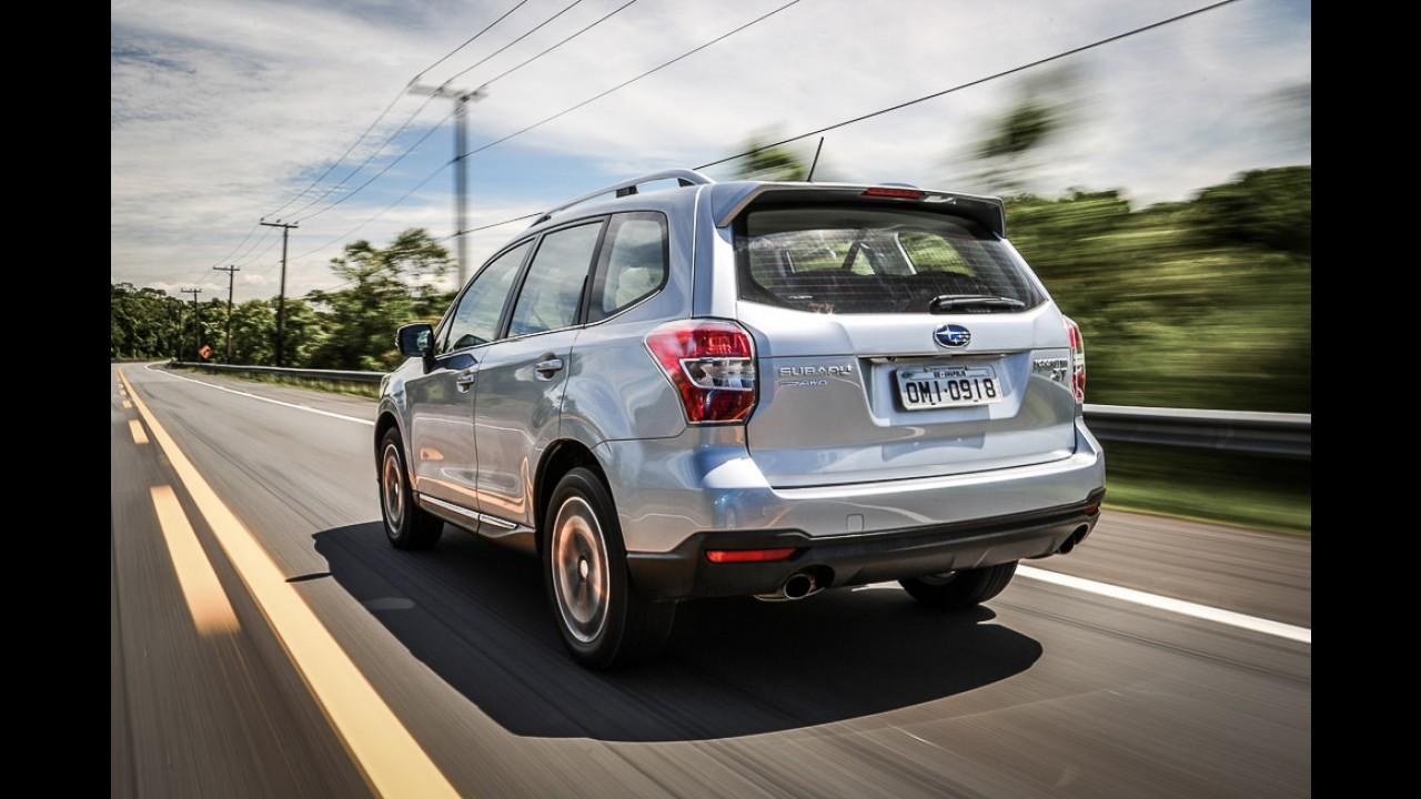 Recall: Subaru convoca 1.262 unidades do Forester no Brasil