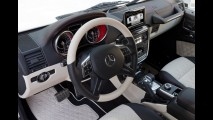 Mercedes divulga novas imagens do Classe G 6x6