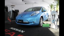 Nissan apresenta o Nissan LEAF e March para imprensa em SP