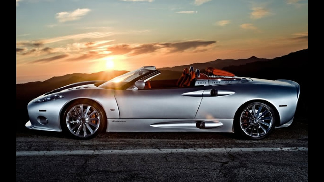 Fim de linha para os esportivos da Spyker