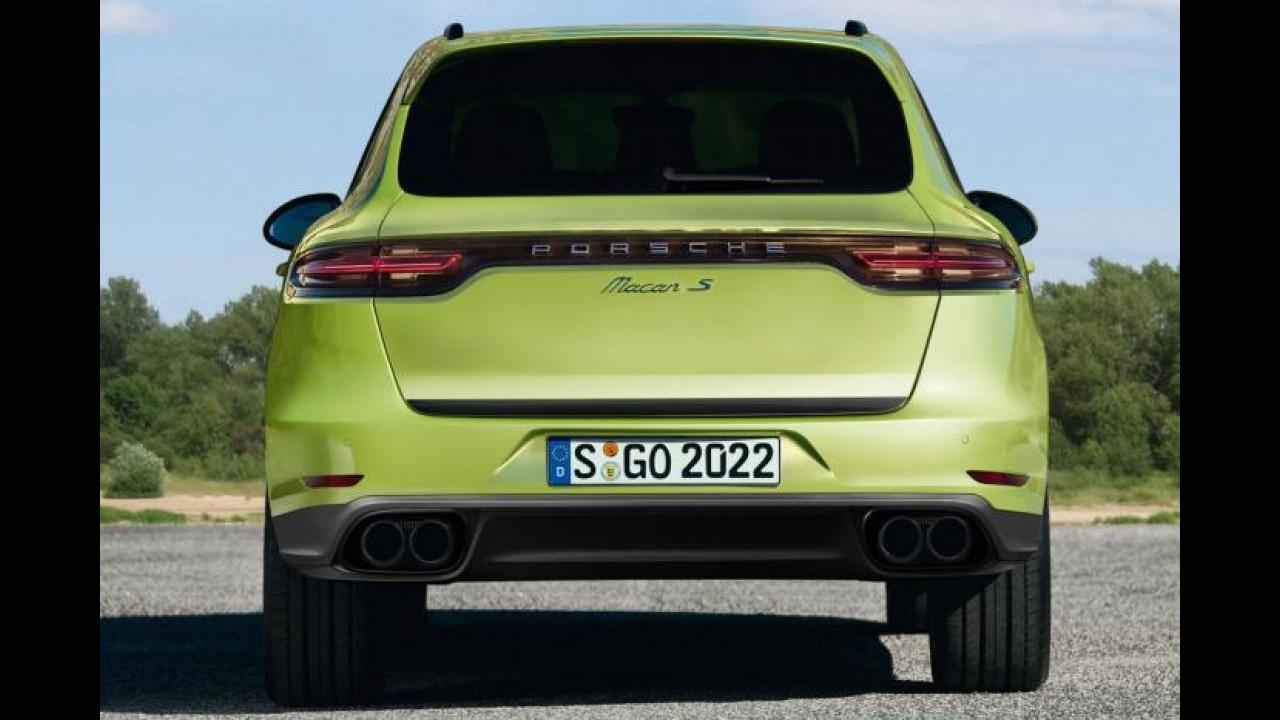 Porsche Macan estreará em novembro no Salão de Los Angeles