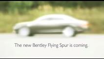 Vídeo: Primeiro teaser do Novo Bentley Flying Spur