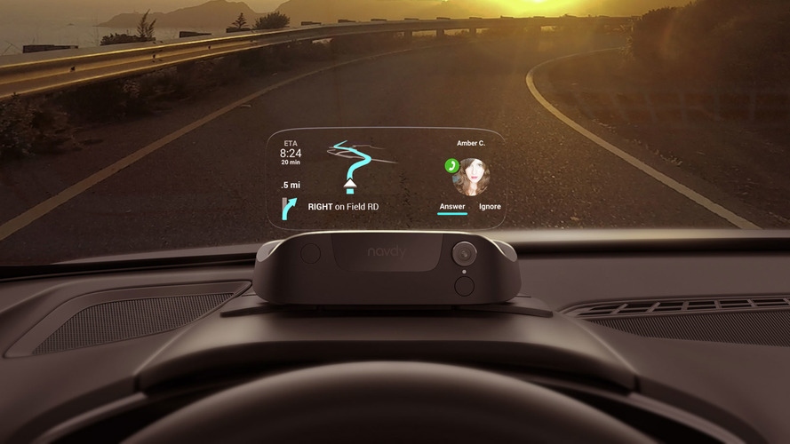 Navdy brings a head-up display, gesture controls to your older car