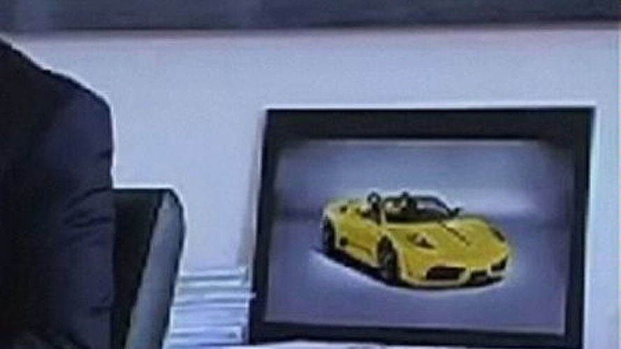 Ferrari 430 Scuderia Spider Unofficially Confirmed with first Low-Res Image