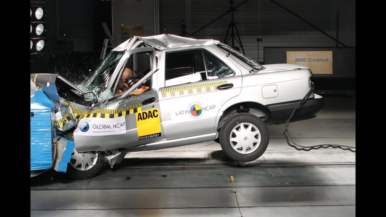 Condenado pelo Latin NCAP, Nissan Tsuru terá produção encerrada em 2017