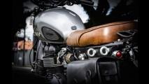 Triumph Bonneville ganha customização brasileira no estilo Scrambler