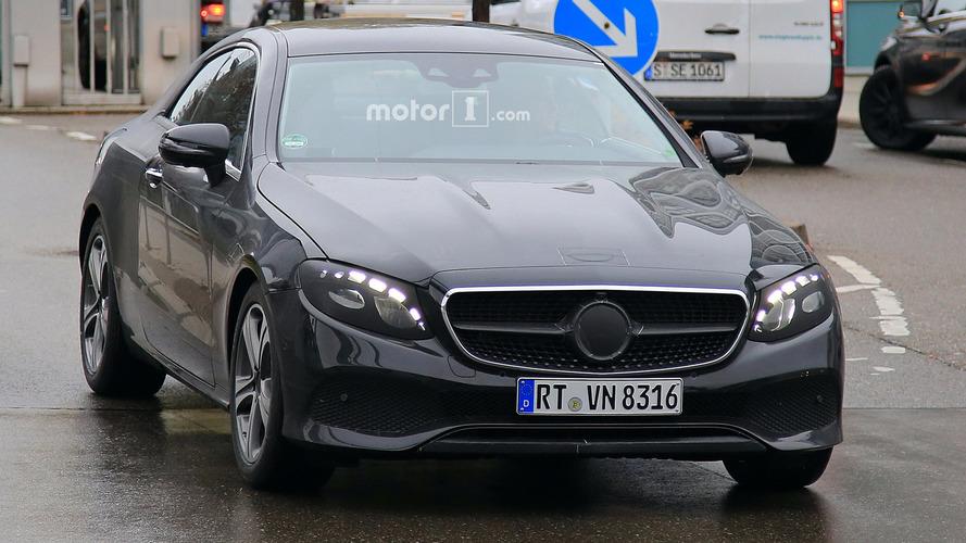 Mercedes E Sınıfı Coupe casus fotoğrafları