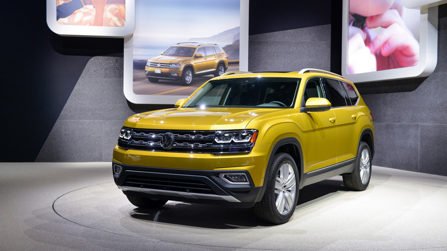 The Atlas is what North American families want, according to VW