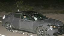 ew Acura Sedan Prototype Spy Shots