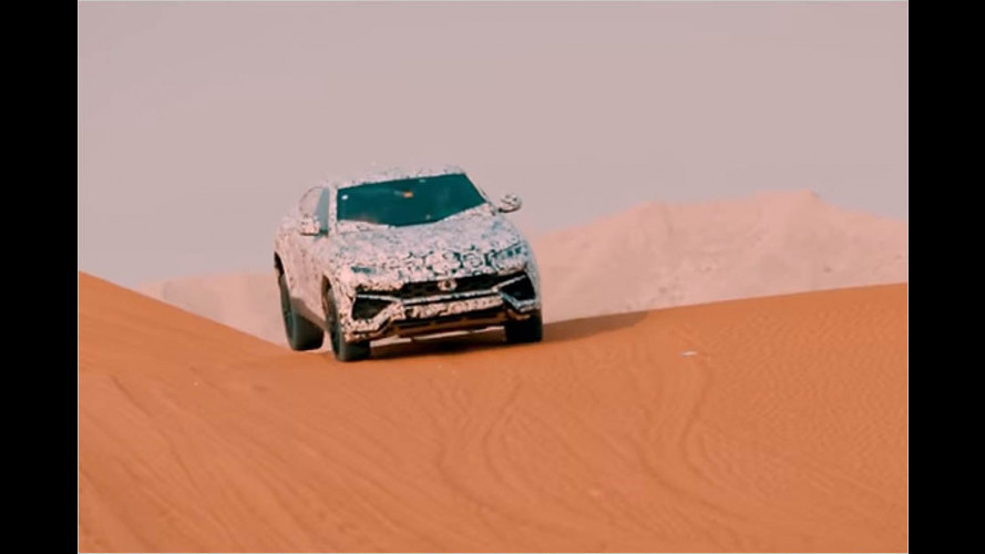 Neues Video: Lambo Urus angeteasert