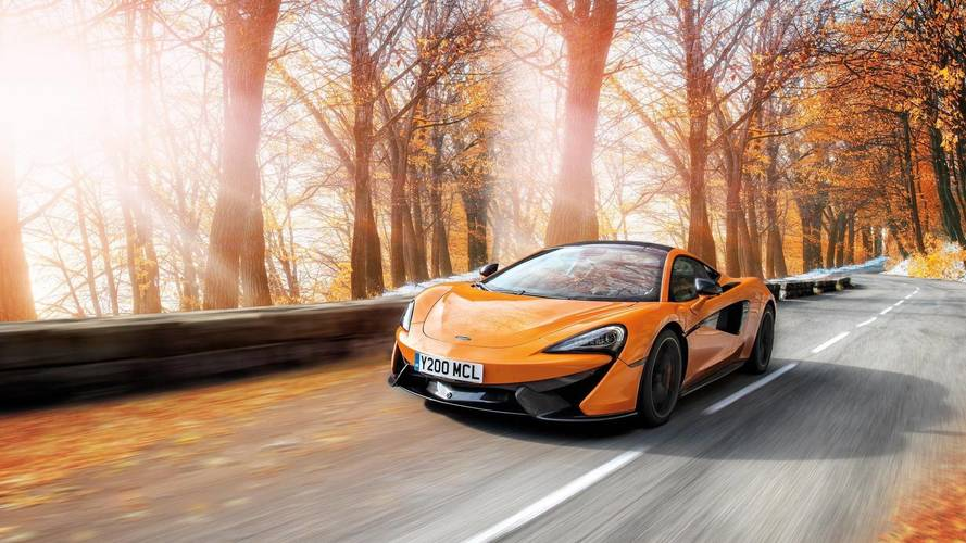 McLaren and Pirelli create winter tyres for Sports Series cars