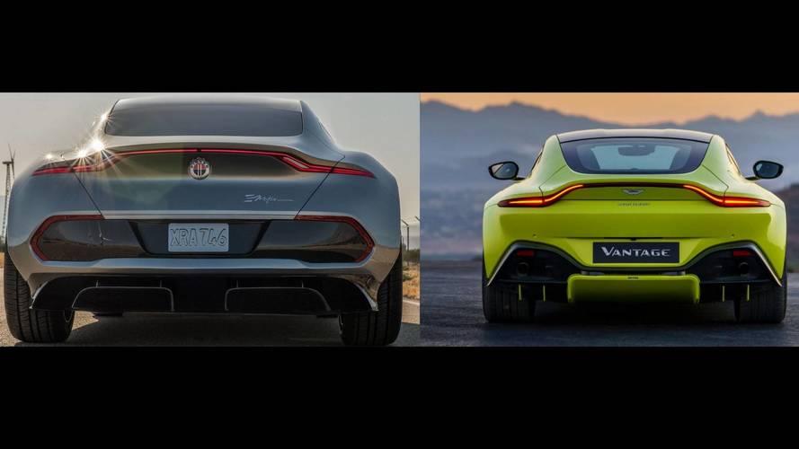 New Aston Martin Vantage Rear Sure Does Resemble Fisker eMotion