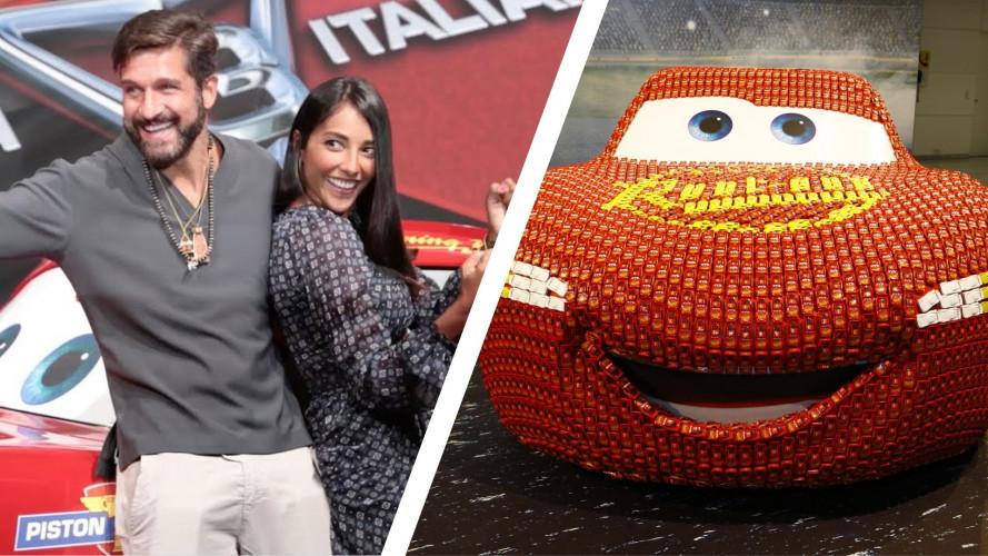 """Cars 3, debutto col """"botto"""" tra Francoforte e serata VIP [VIDEO]"""