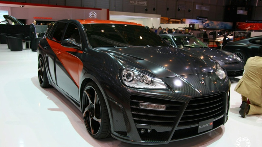 Mansory Chopster Debuts in Geneva