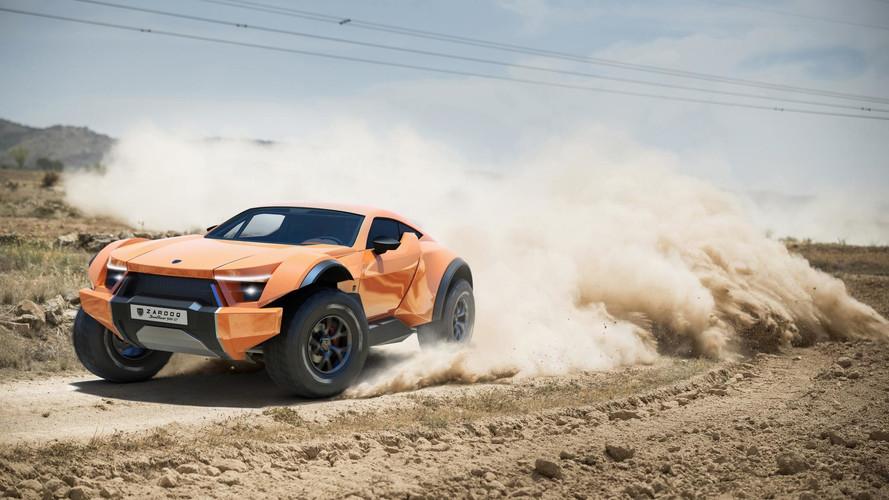 İlginç tasarımlı Zarooq Sand Racer 500 GT üretime hazır