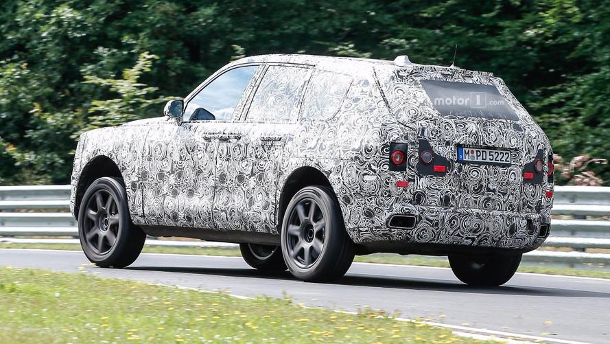 Le Rolls-Royce Cullinan à l'assaut du Nürburgring