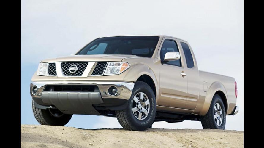 Der neue Nissan Frontier Pick-up: Bulliges Front-Tier