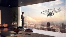 Volocopter test uçuşu