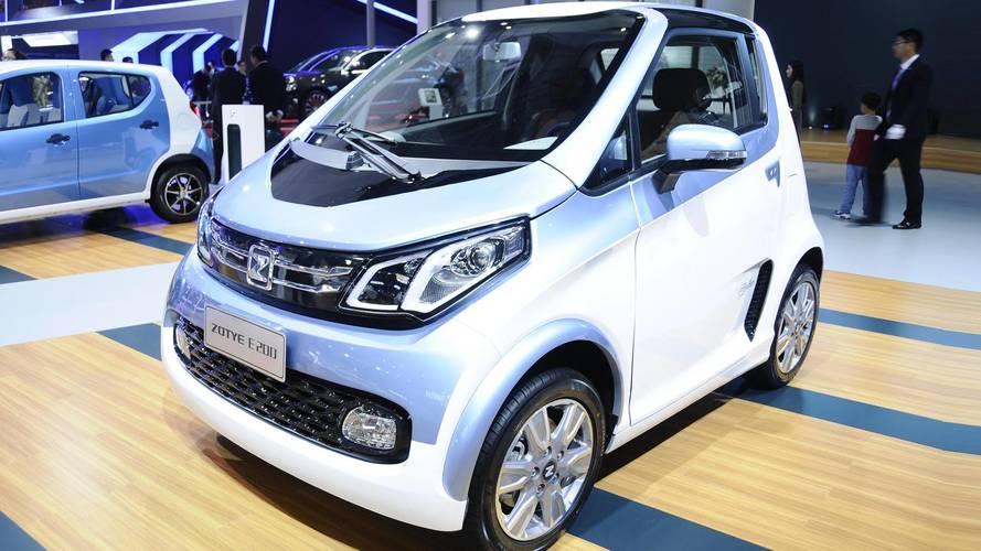 Zotye acelera homologação de carros 100% elétricos no Brasil
