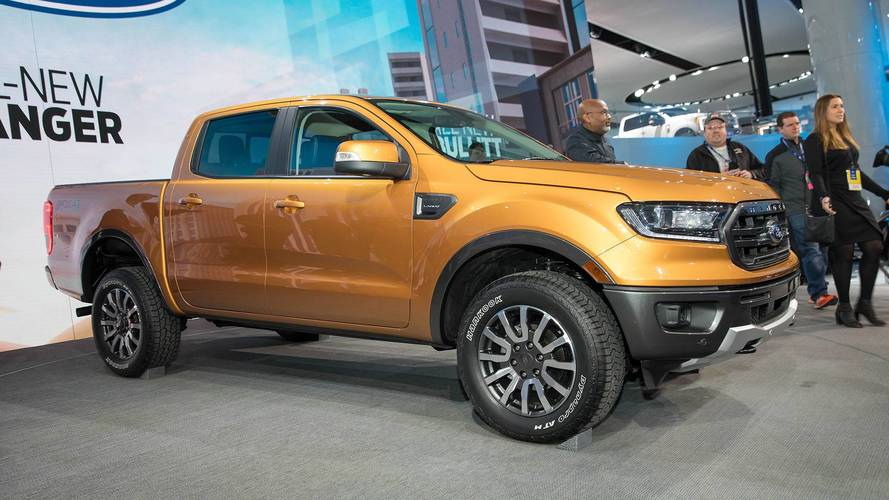 PHOTOS - Le Ford Ranger au Salon de Détroit 2018
