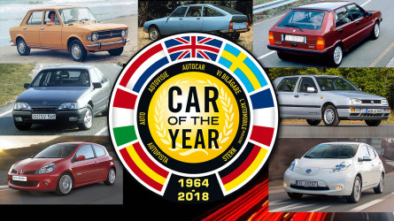 Every Car of the Year winner since 1964