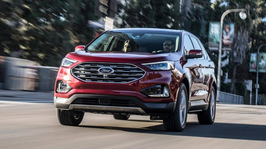 Ford Refreshes 2019 Edge Launches 335 Hp St Model