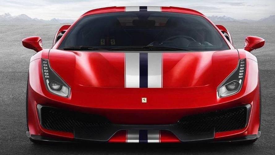 Ferrari 488 Pista leaked official images