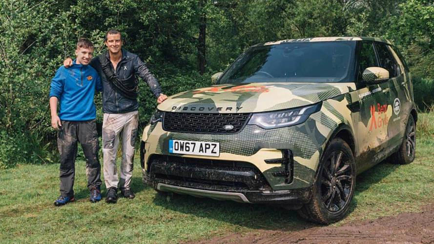 Bear Grylls And Land Rover Team Up For Ultimate Surprise
