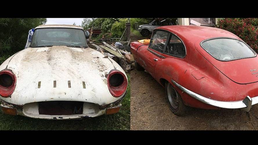Pair Of Barn-Find Jaguar E-Types Could Be Your Next Project