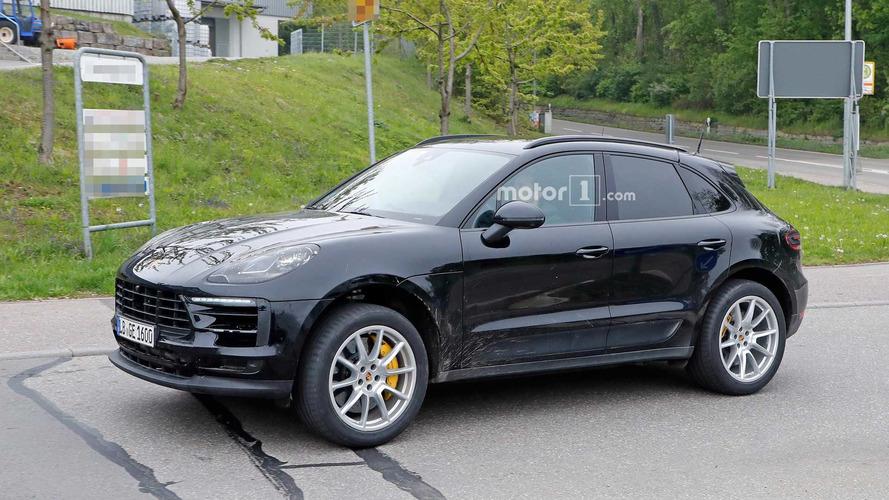 Porsche - Le Macan restylé se promène en Europe