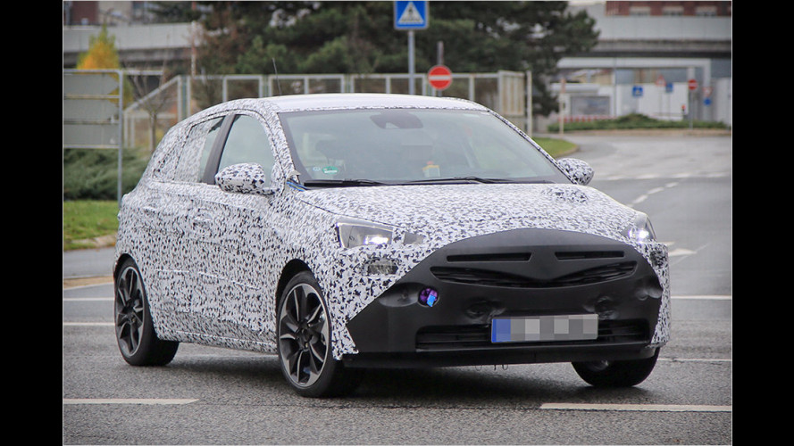 Erwischt: Neuer Opel Corsa