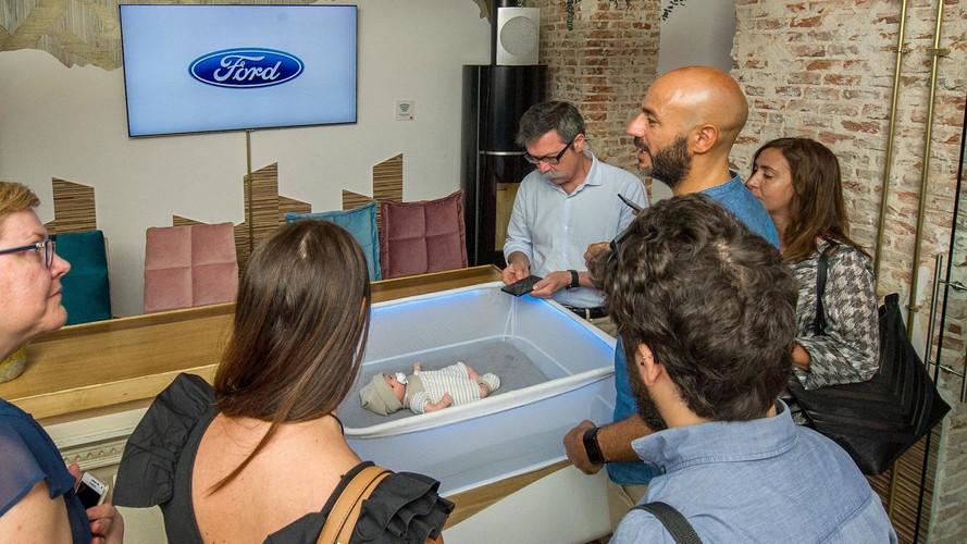 Cuna Ford Max Motor Dreams, el antídoto para los bebés rebeldes