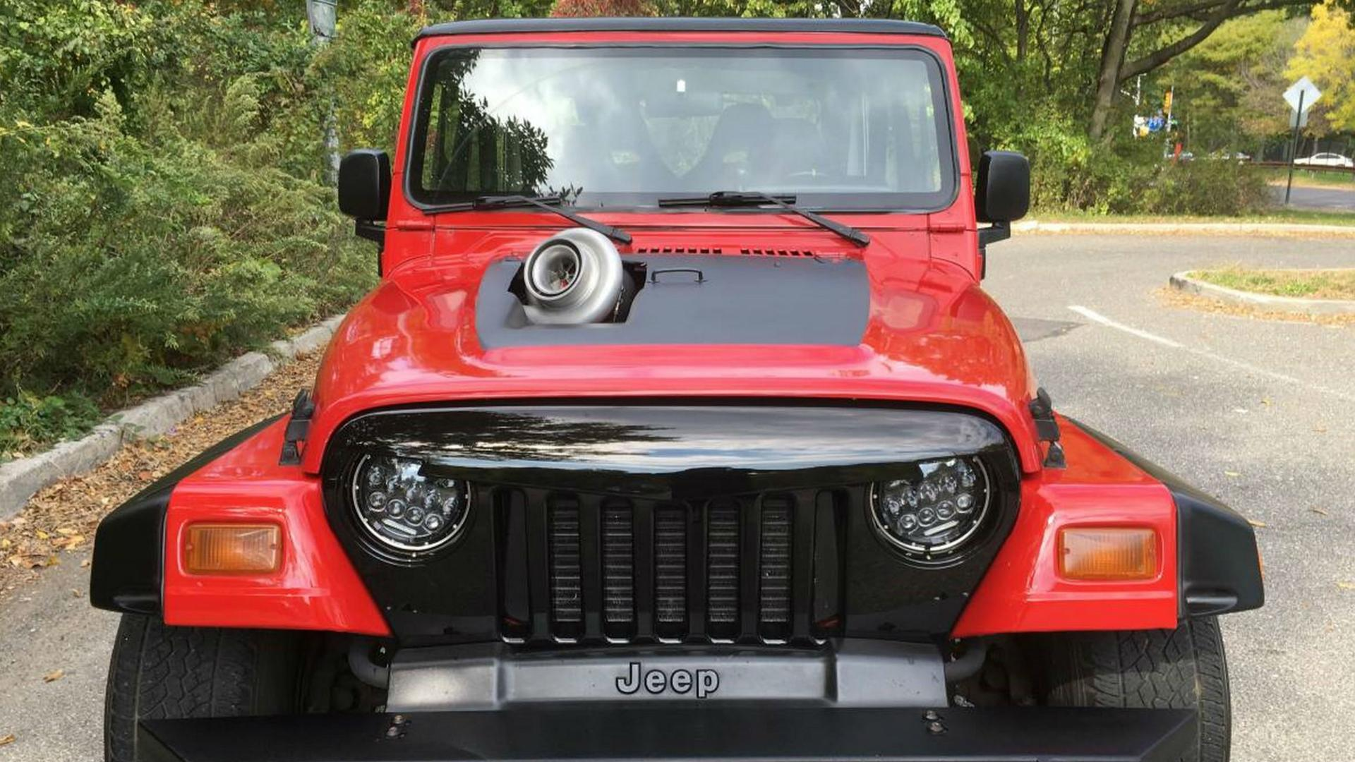 piece tuning pour jeep wrangler